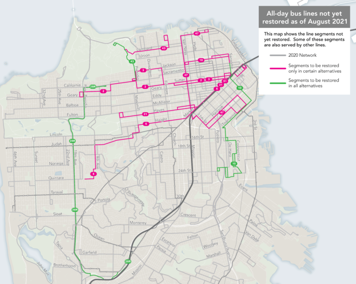 parts, or all of Routes 2, 3, 6, 10, 21, 28R, 31, 43, 47 are included in this map