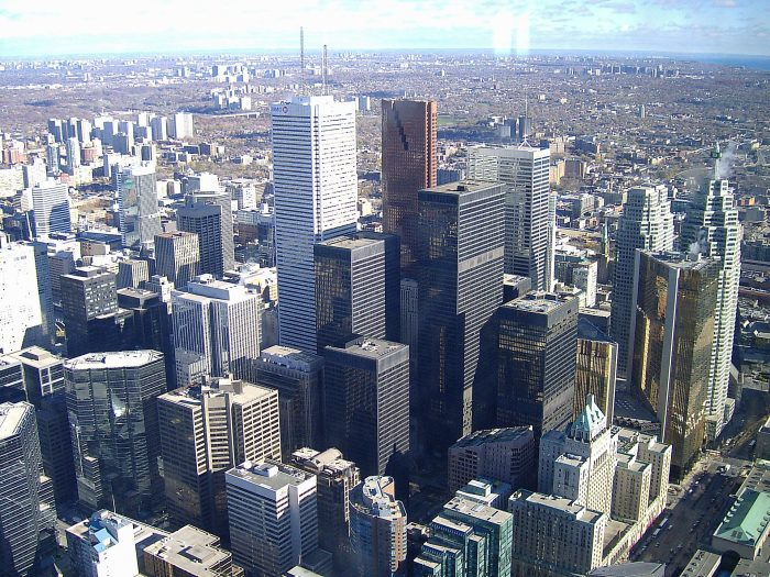 We're clear on how dense downtown Toronto is, right?