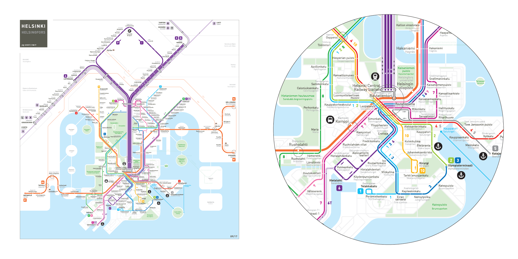 Image result for Mapped: historic public transit systems v their modern equivalents